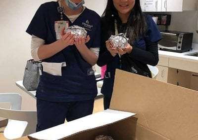 Food Delivery for Healthcare Workers