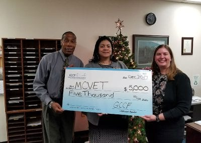 Maryland Center for Veterans Education and Training Donation