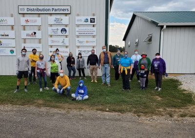 Volunteering at First Fruits Farm